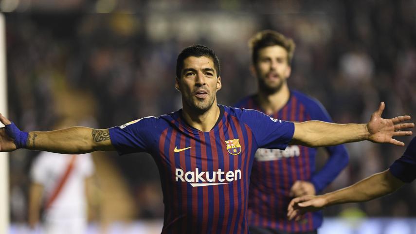 Luis Suárez, un goleador nato