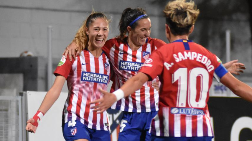 El At. Madrid Femenino no perdona ante el Levante
