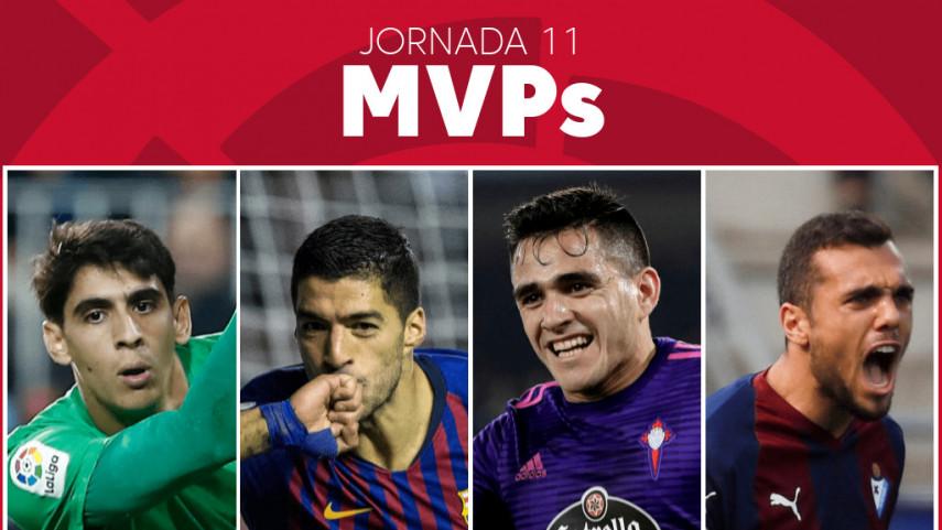 Elige al MVP de la jornada 11 de LaLiga Santander