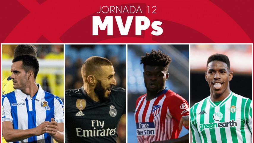 Elige al MVP de la jornada 12 de LaLiga Santander