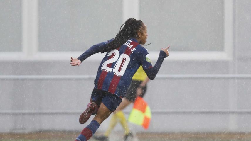 El Levante UD se exhibe ante el Málaga CF