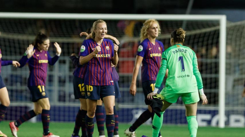 Toni Duggan marca la diferencia ante el At. Madrid Femenino
