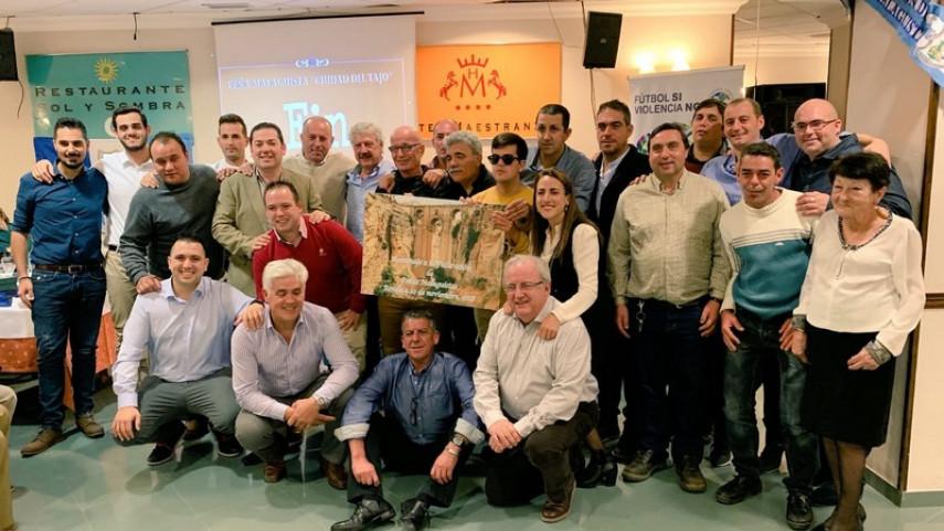 La Peña Malaguista Ciudad del Tajo de Ronda celebra su sexto aniversario