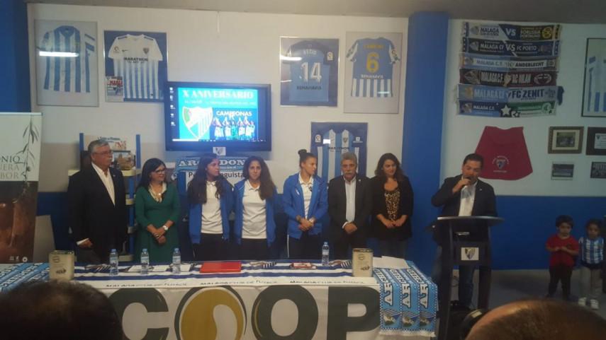 La Peña de Archidona premió al Málaga CF Femenino