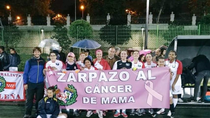 Zarpazo al cáncer de mama por parte de la Peña Culturalista Madrileña