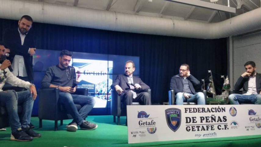 Las peñas conmemoran un siglo de historia del Getafe CF