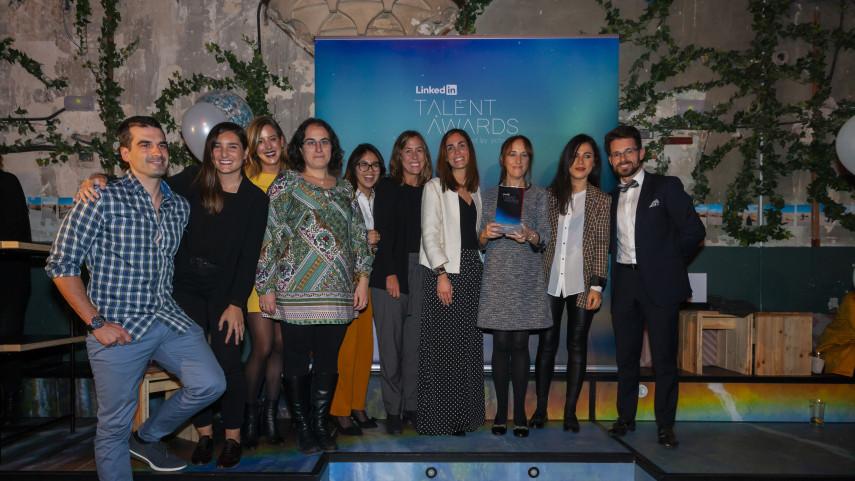 LaLiga gana el premio 'Best Employer Brand' en los Linkedin Talent Awards