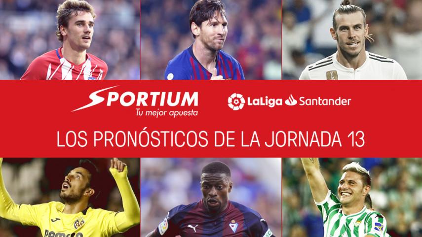 Los pronósticos de la jornada 13 de LaLiga Santander