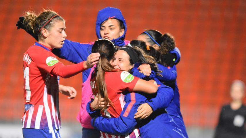 El At. Madrid Femenino remonta y se agarra al liderato