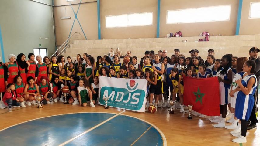 La Peña Madridista de Casablanca organizó la segunda edición del torneo de baloncesto de la Asociación de Ben M'Sik Sidi Othman Charities