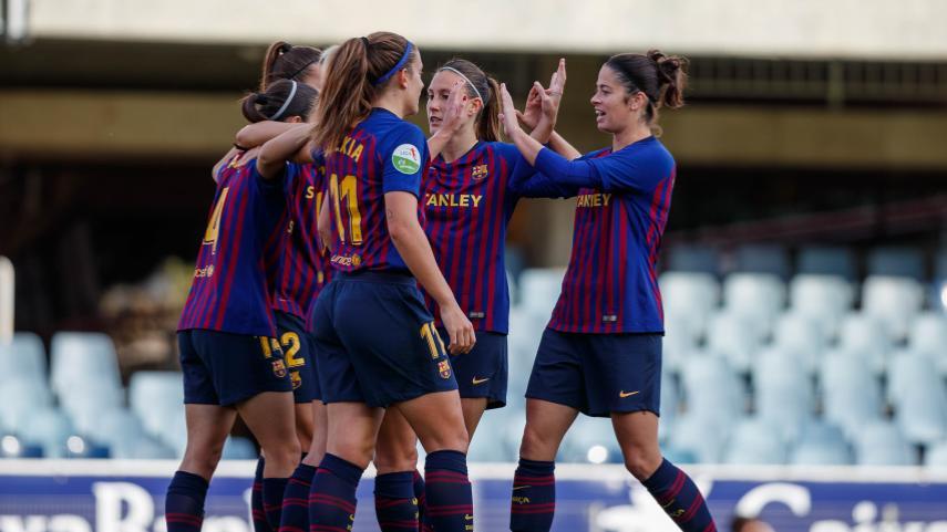 Alexia y Duggan lideran el pase a cuartos de la Copa de la Reina del FC Barcelona