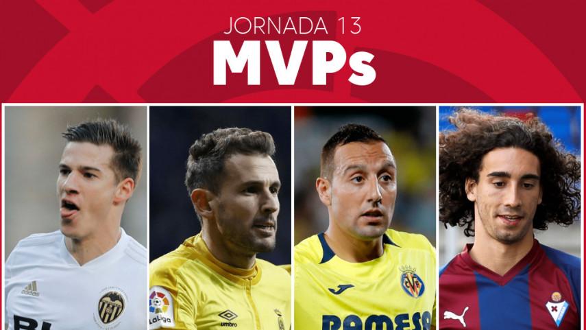 Elige al MVP de la jornada 13 de LaLiga Santander