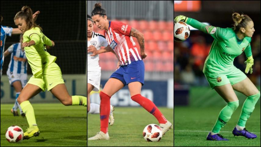 Sandra Paños, Lieke Martens y Jenni Hermoso, entre las mejores jugadoras del mundo