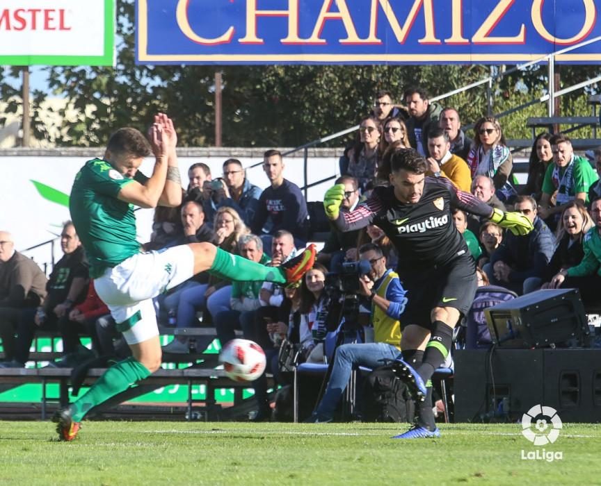Juan Soriano, en la eliminatoria ante el Villanovense (Foto: LaLiga).