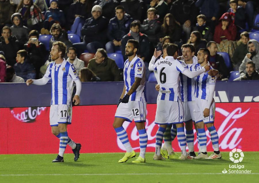 Примера. 12-й тур. Реал Сосьедад победил Леванте - изображение 1