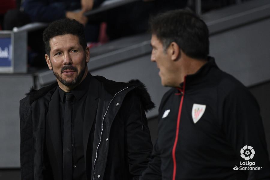 Alineación Atlético - Athletic - Jornada 12 Liga Santander