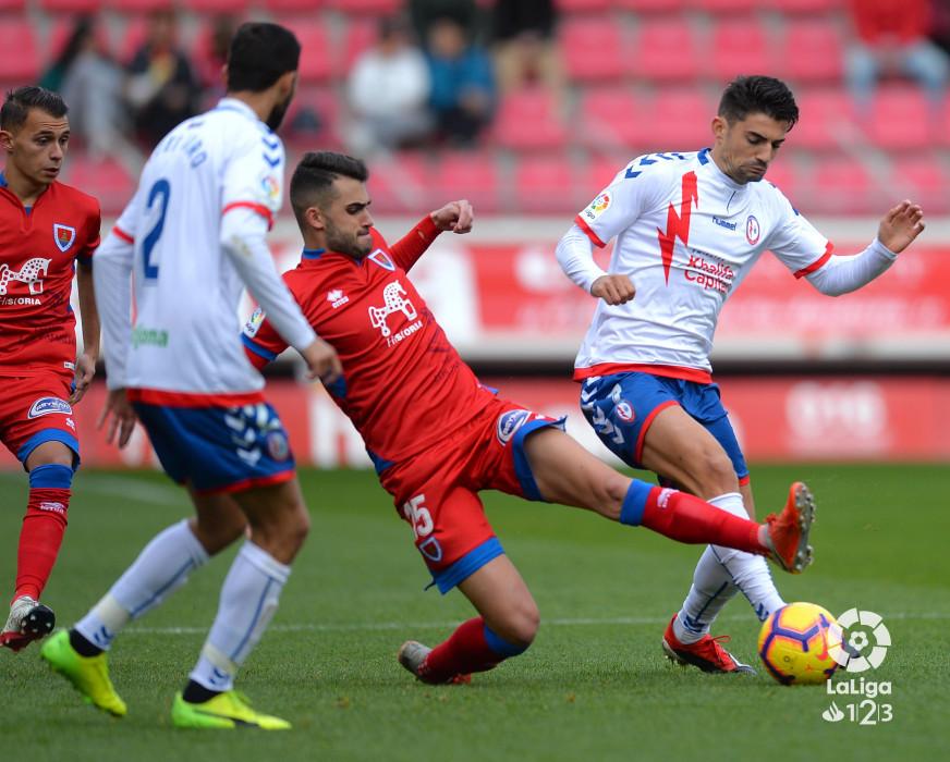 Un Numancia impotente cara al gol pierde ante el Rayo Majadahonda | Imagen 4