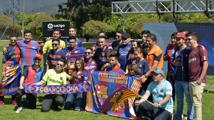 Inaugurada la Peña Corazón Blaugrana de Bogotá