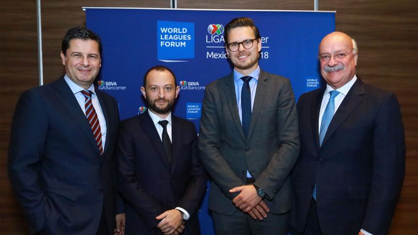 El World Leagues Forum celebra su reunión anual en la Ciudad de México