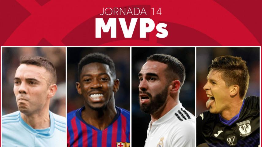 Elige al MVP de la jornada 14 de LaLiga Santander