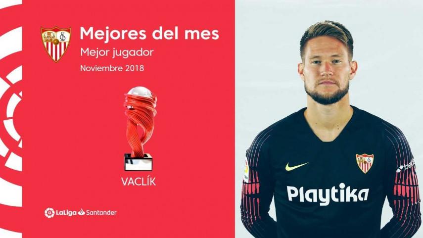 Tomáš Vaclík, Mejor Jugador de LaLiga Santander en noviembre