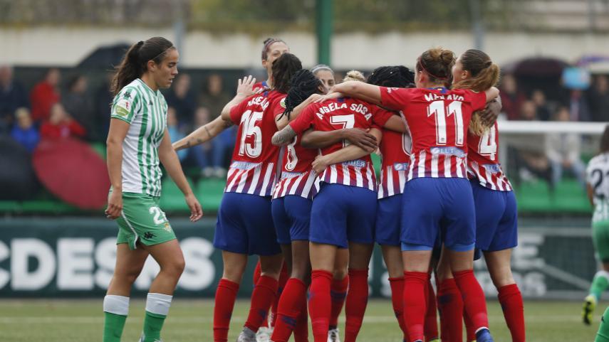 Triunfo sufrido del At. Madrid Femenino para mantener el liderato