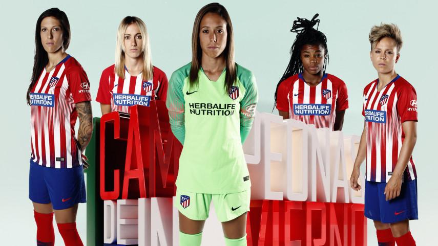 El At. Madrid Femenino, campeón de invierno de la Liga Iberdrola
