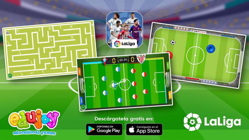 LaLiga lanza por Navidad su app de 'Juegos Educativos'