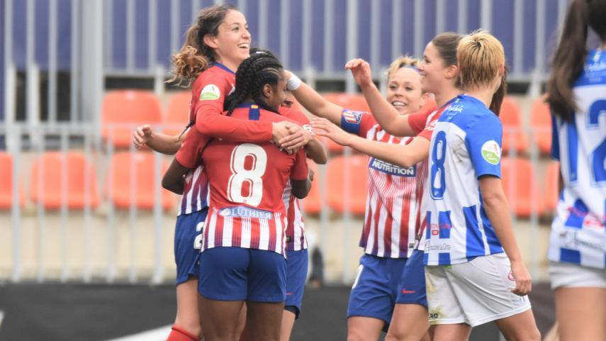 Revive el triunfo que hace campeón de invierno al At. Madrid Femenino