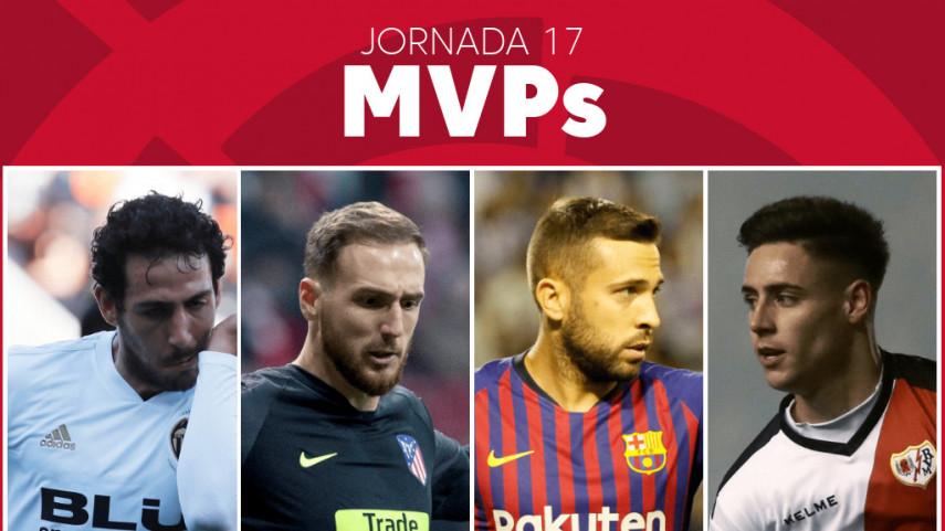 Elige al MVP de la jornada 17 de LaLiga Santander