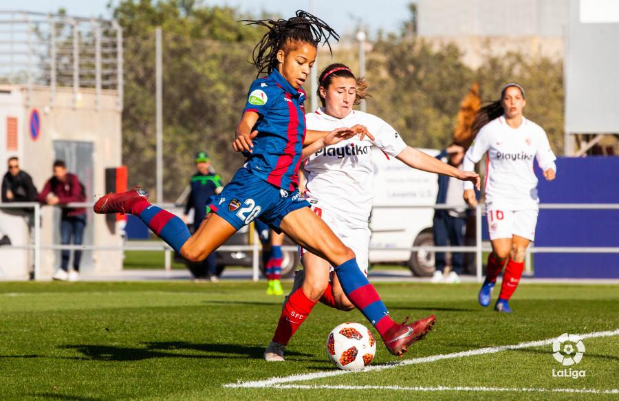 Imagen del partido disputado en Valencia (Foto: LaLiga).