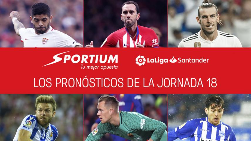 Los pronósticos de la jornada 18 de LaLiga Santander