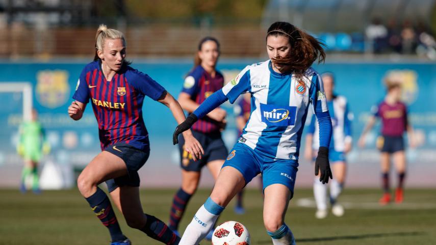 Punto muy luchado para el Espanyol femenino