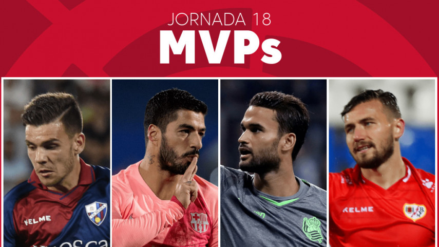 Elige al MVP de la jornada 18 de LaLiga Santander