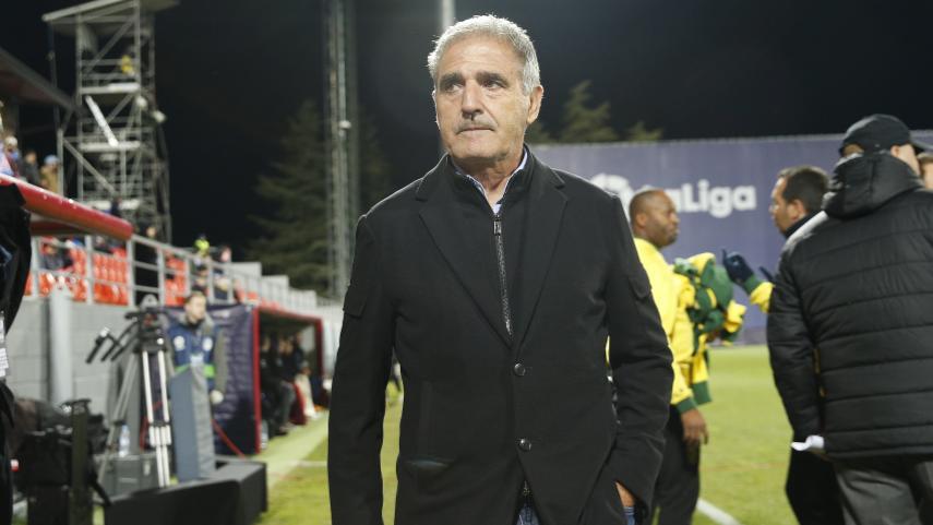 Paco Herrera no continuará como entrenador de Las Palmas