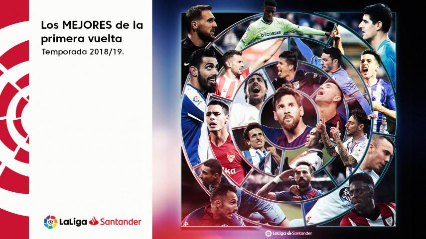 Las estrellas de la primera vuelta de LaLiga Santander