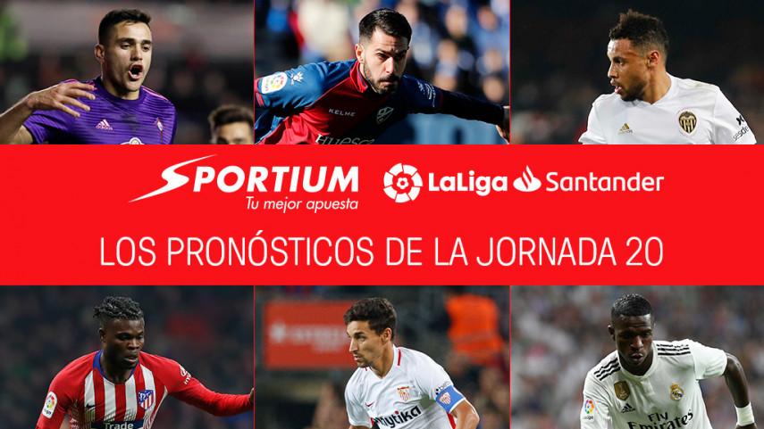 Los pronósticos de la jornada 20 de LaLiga Santander