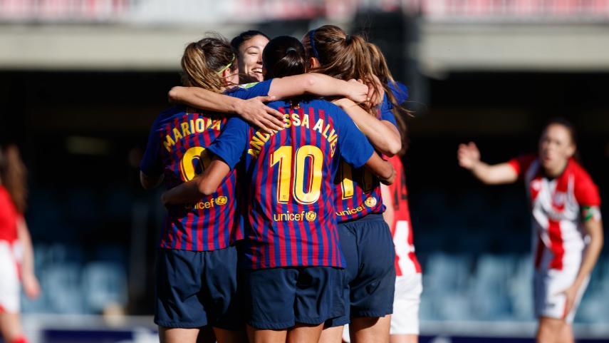 El Barcelona continúa con el pulso por la Liga Iberdrola