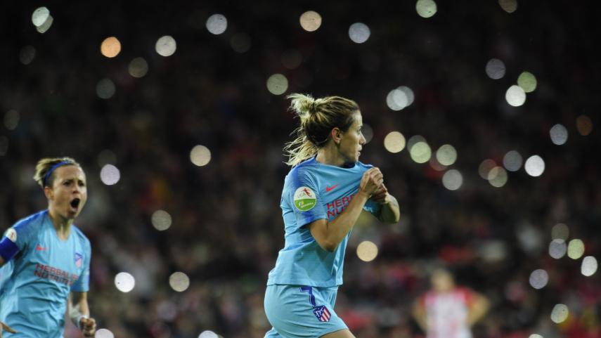 El At. Madrid Femenino logra el pase a semis de la Copa de la Reina en una noche histórica