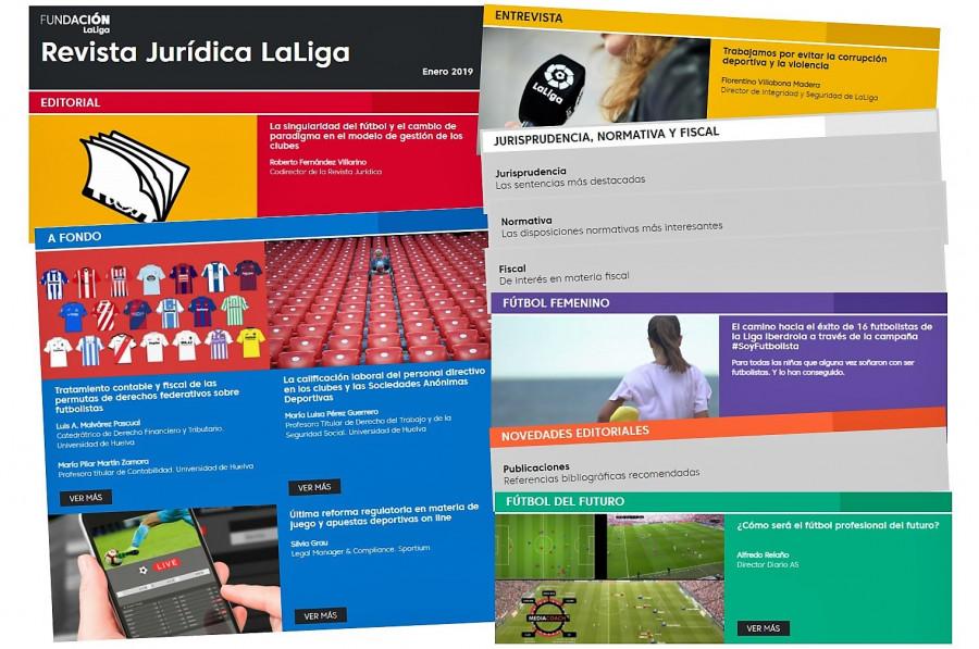 La reforma regulatoria de las apuestas deportivas online, protagonista del duodécimo número de la Revista Jurídica LaLiga