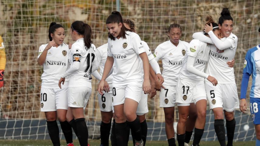 El VCF Femenino no perdona ante el Málaga CF