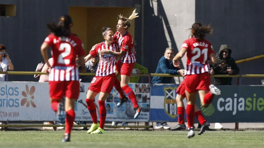 El At. Madrid Femenino no baja el ritmo ante el Granadilla
