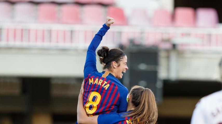 El FC Barcelona vence a un correoso F. Albacete