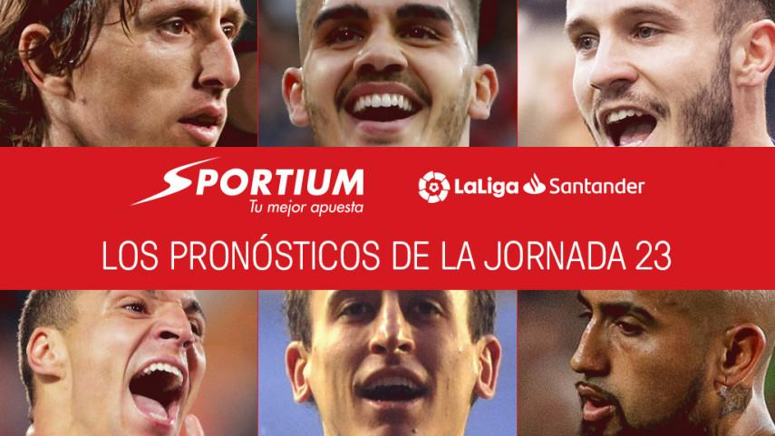 Los pronósticos de la jornada 23 de LaLiga Santander