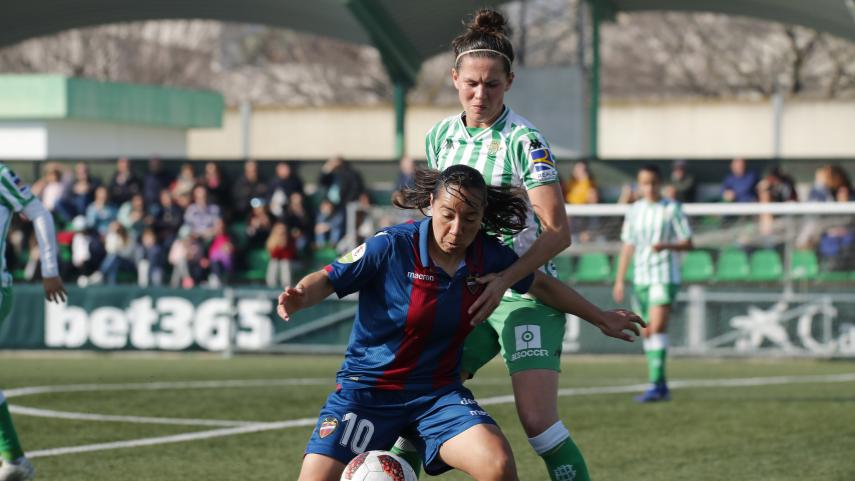 Tablas entre R. Betis Féminas y Levante