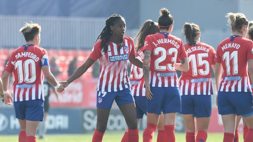 El At. Madrid Femenino mantiene su ritmo imparable