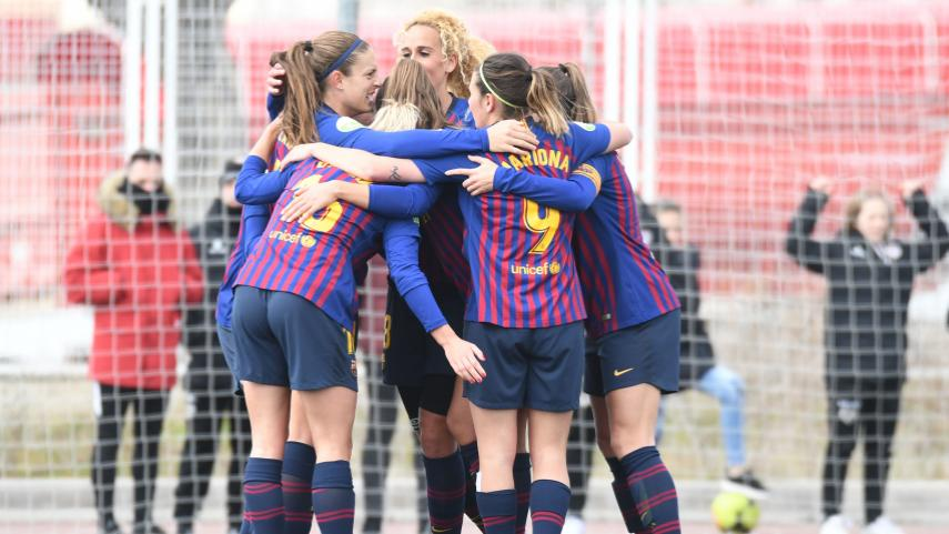 El FC Barcelona no se rinde en su persecución al líder de la Liga Iberdrola