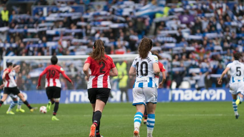 Empate en un derbi histórico en la Liga Iberdrola
