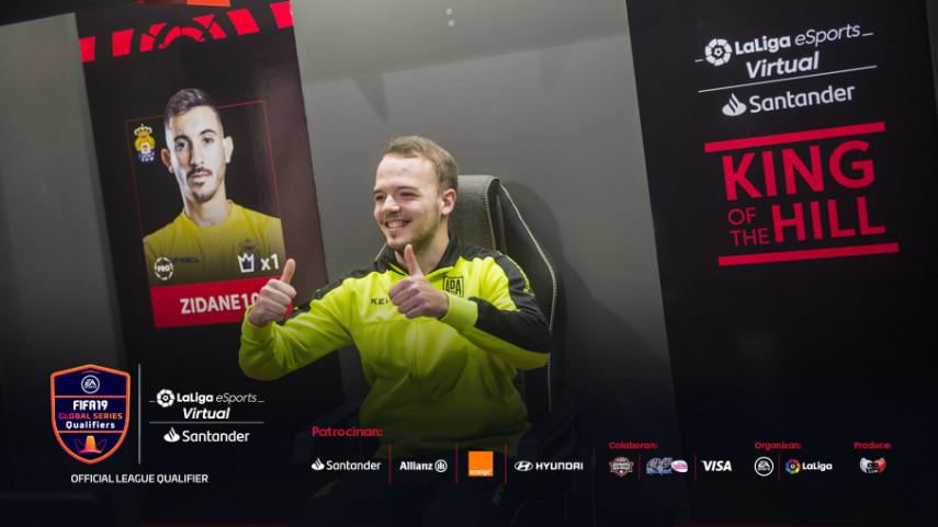 DanielAguilar4 del AD Alcorcón, nuevo 'King of the Hill' del Virtual LaLiga eSports Santander