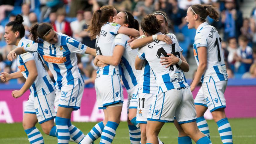 La Real Sociedad acompañará al At. Madrid Femenino en la final de la Copa de la Reina